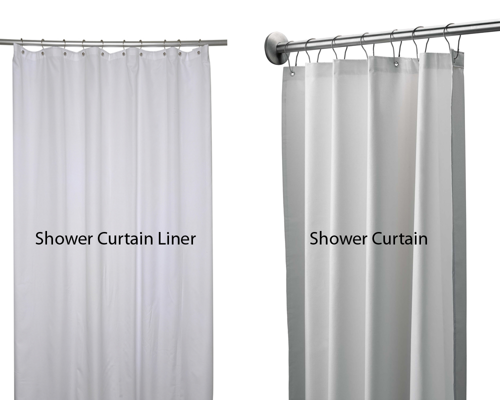 Delicieux However, Some People Are Still Misinformed About The Differences Between A Shower  Curtain Liner And A Shower Curtain. Are They Basically The Same?