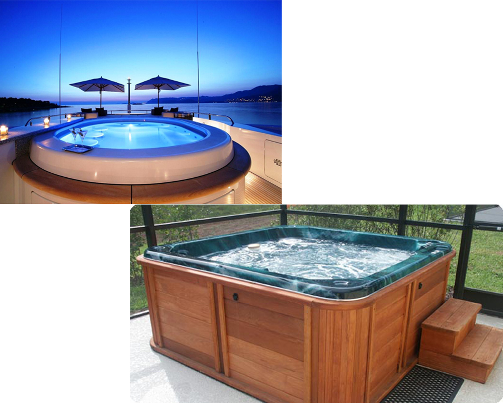 contemporary hot tub vs jacuzzi vs whirlpool festooning bathroom and shower ideas. Black Bedroom Furniture Sets. Home Design Ideas