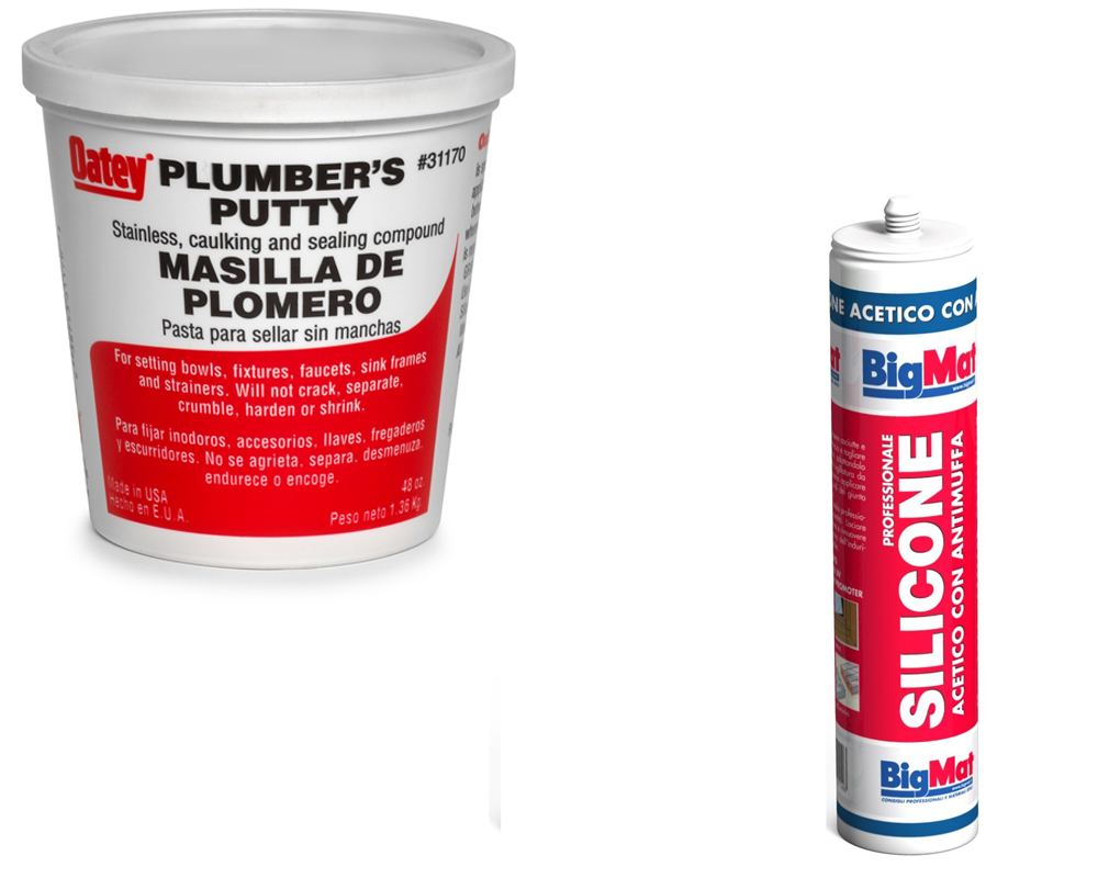 Plumbers Putty vs Silicone | Homeverity com