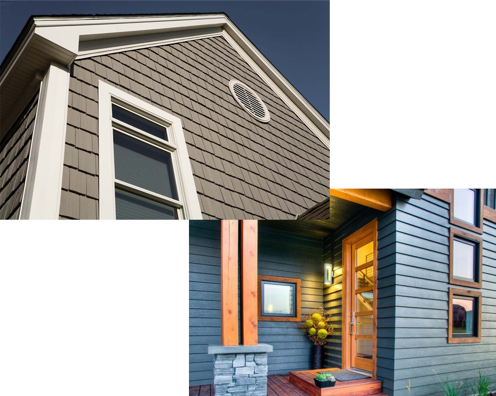 Vinyl siding vs hardiplank for Wood siding vs hardiplank