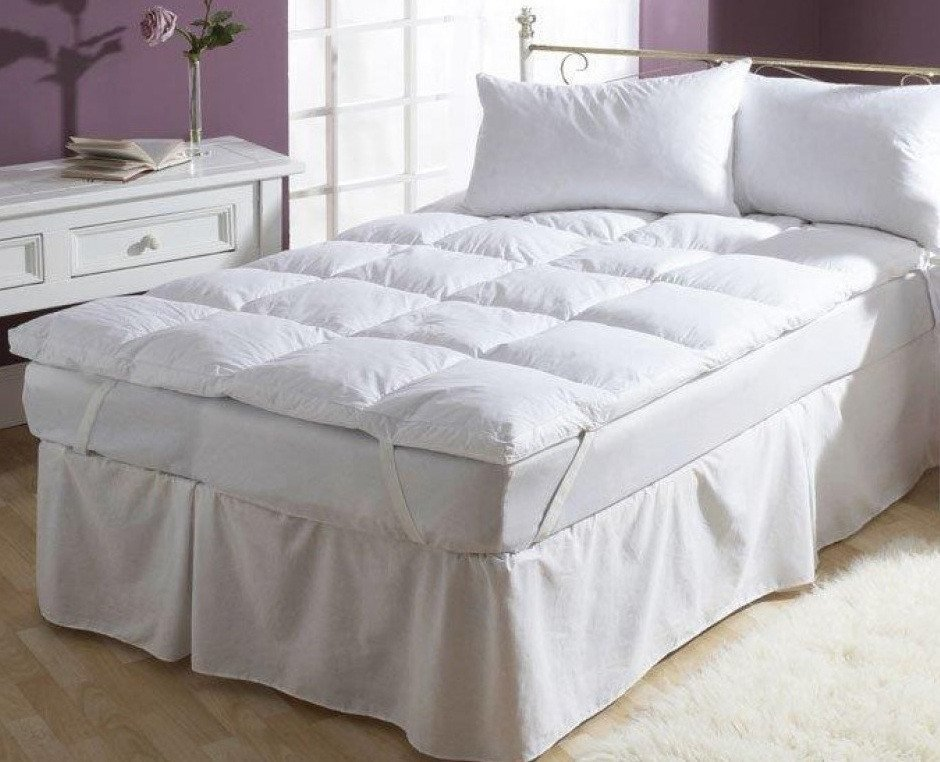 Most comfortable mattress topper features of the best for Best down mattress pad
