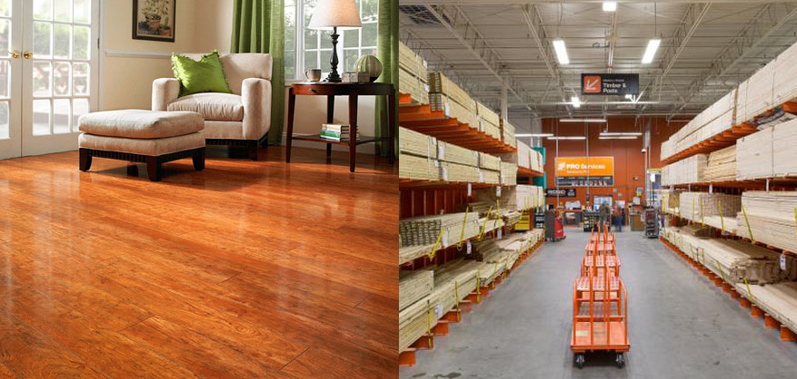 Flooring Lowes Vs Home Depot