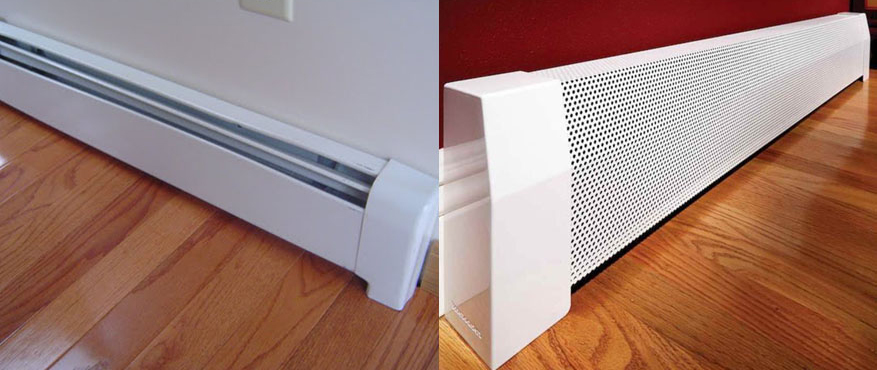 baseboard heaters are great as a secondary heat source in addition to the primary hvac system that may have been installed in your home - Hydronic Baseboard Heaters