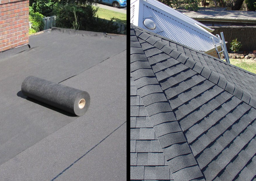 Asphalt Roll Roofing : Rolled roofing vs shingles homeverity