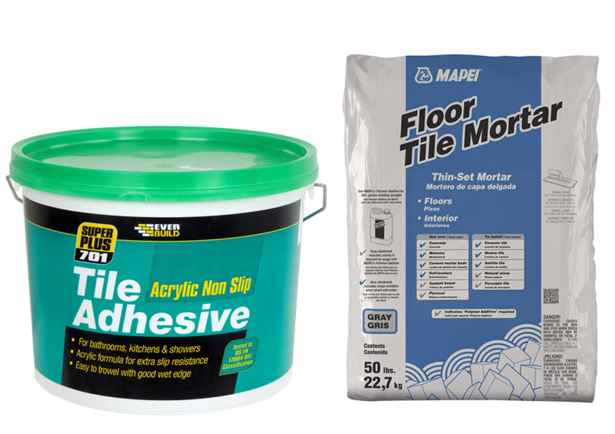 Tile Adhesive Vs Thinset Homeverity