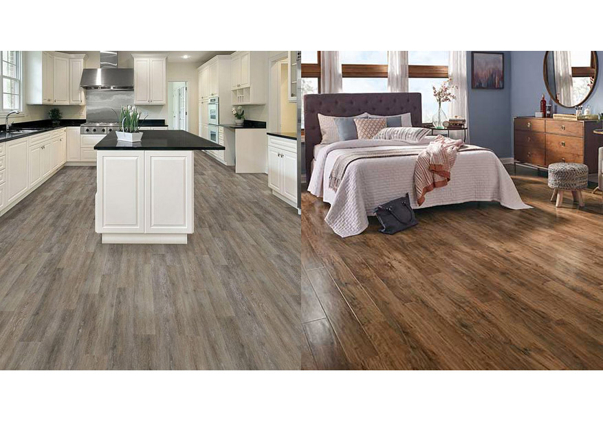 vinyl planks vs laminate flooring. Black Bedroom Furniture Sets. Home Design Ideas
