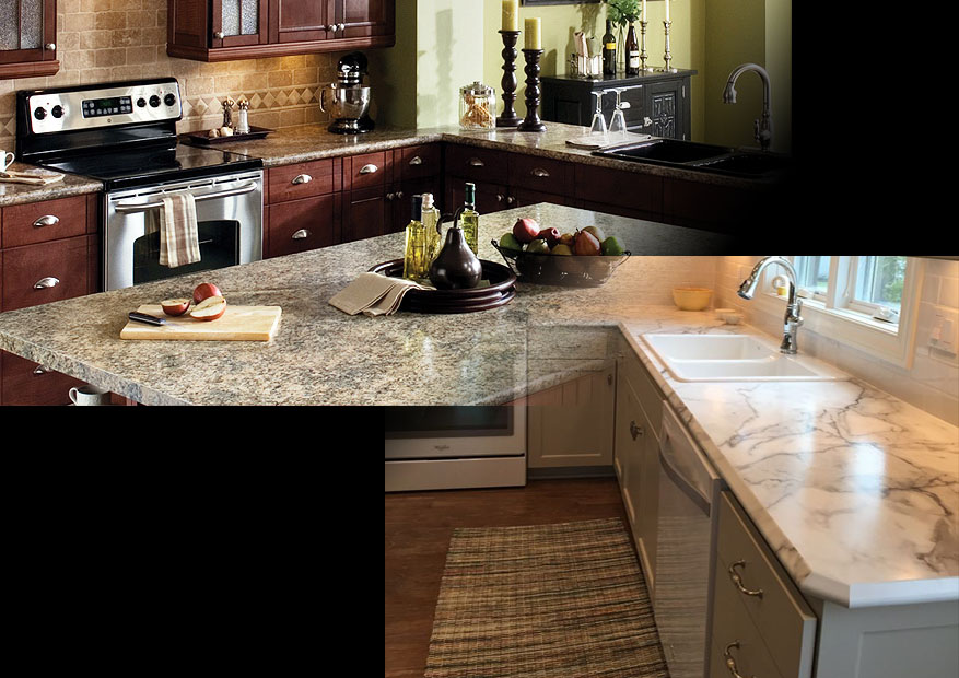 Right Now The Two Most Recognized Brands Of Laminate Countertops Are Wilsonart And Formica Well Perhaps Is More Por One