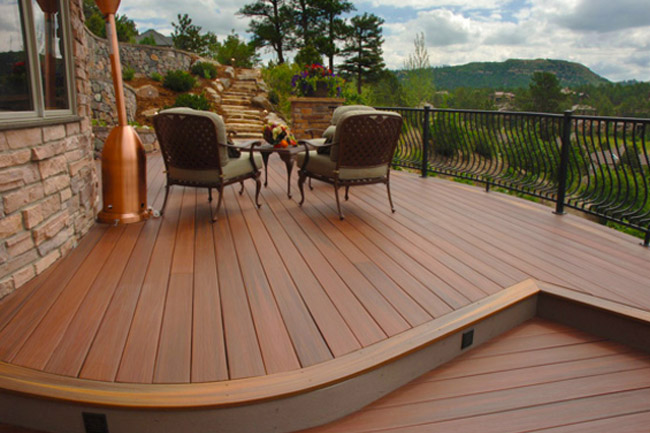 Fiberon vs azek decking for Ipe decking vs trex