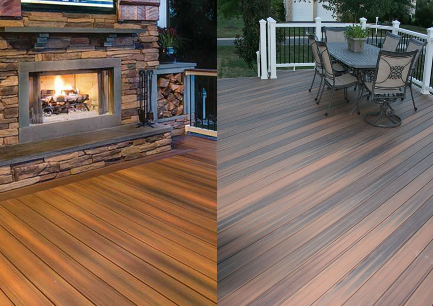 100 composite wood wood and composite decking pros and for Ipe decking vs trex